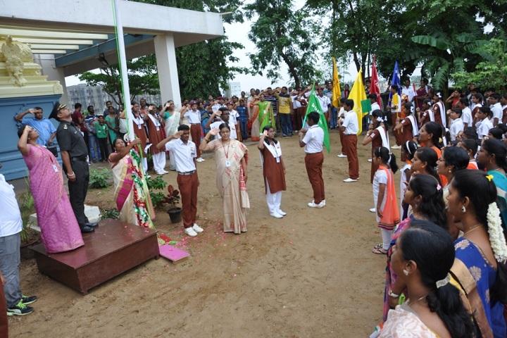 VGN Chinmaya Vidyalaya-Independence Day