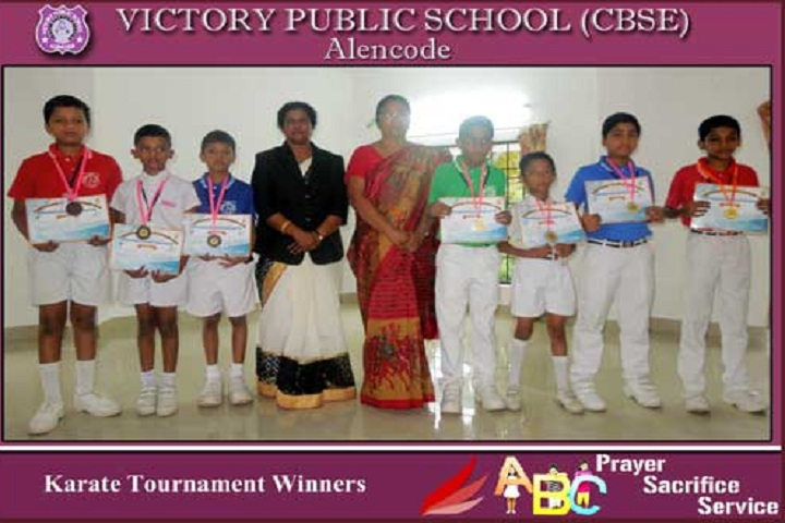 Victory Public School-Karate Tournment Winners