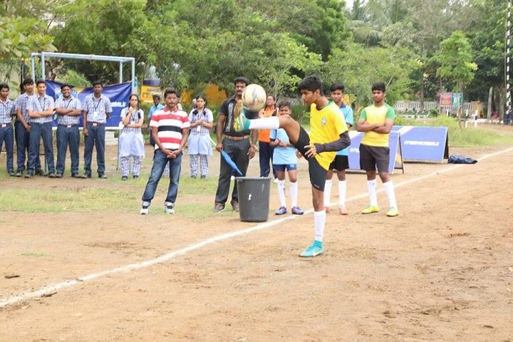 Vidhya Sagar Global School-Inaugration of CFC Soccer