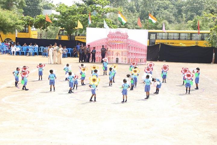 Vidhya Sagar Global School-11th Junior Sports Day Celebration