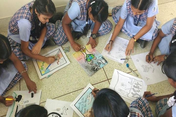 Vidya Sagar Global School-Drawing Activity