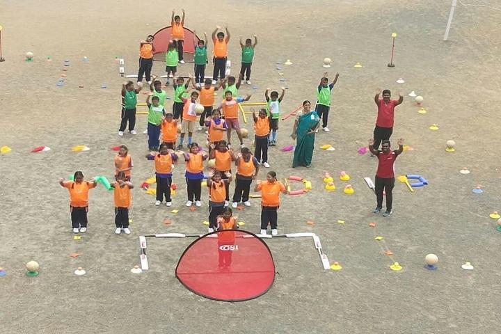 Vidya Sagar Global School-FIFA World Cup Field Work