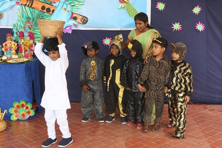 Vidya Sagar Global School-Janmastami Celebration By Kindergarten