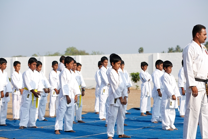 vidyasagar International Public School-Karate