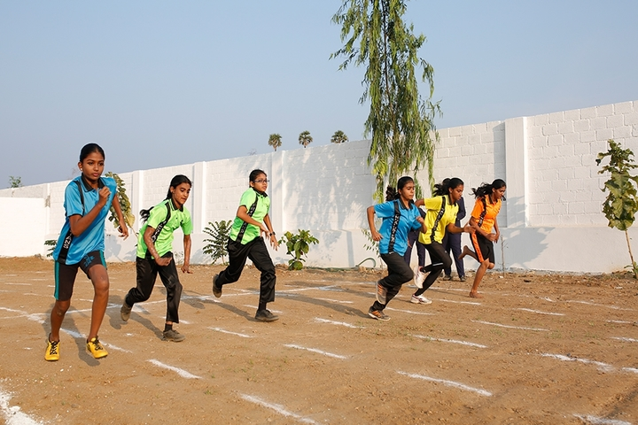 vidyasagar International Public School-Running race