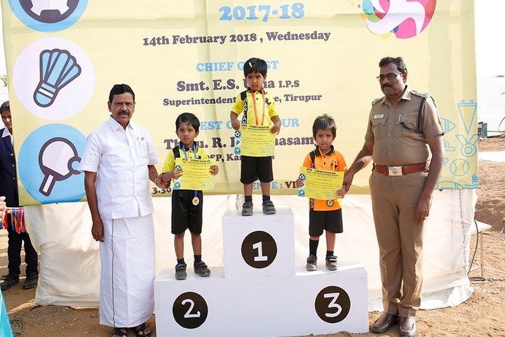 vidyasagar International Public School-Winners of Running Race