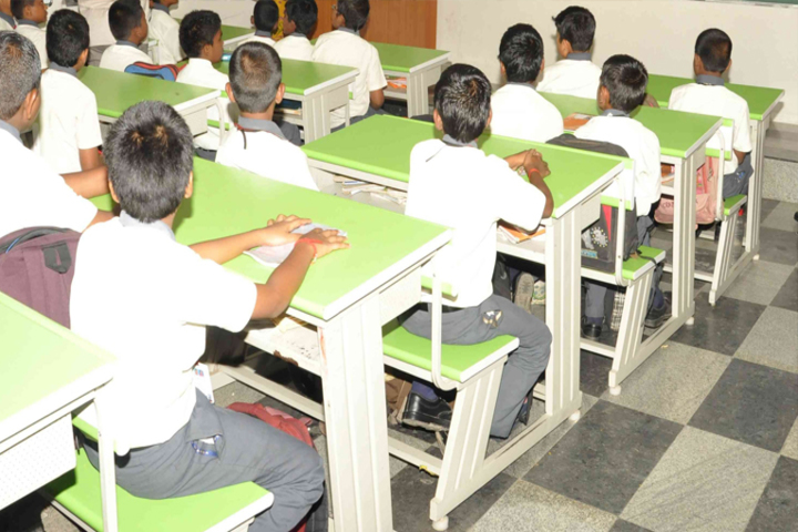 Vidyaa Vikas International School-Class rooms
