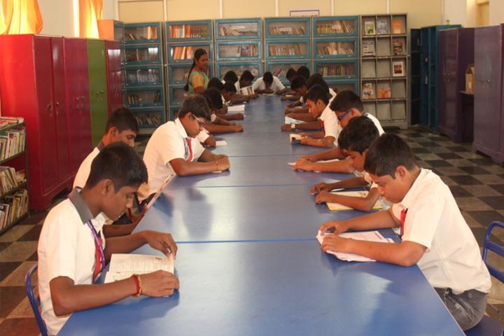 Vidyaa Vikas International School-Library