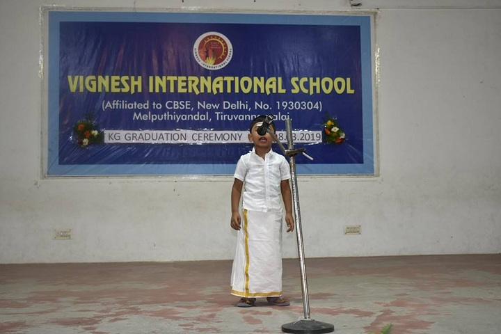 Vignesh International School-KG Graduation Ceremony