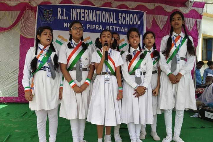 R L International School-Singing