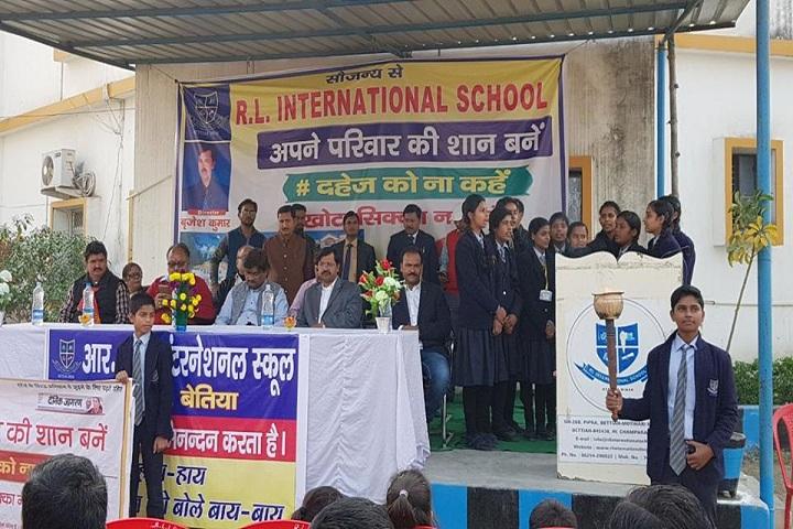 R L International School-Sports Day