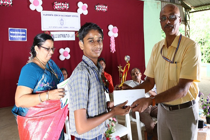 Vijayantha Senior Secondary School-Prize Distribution