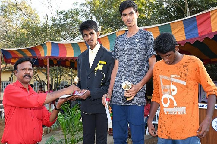 Vijayantha Senior Secondary School-Sports Day Celebrations