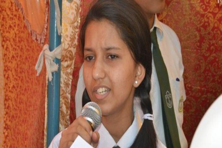 R N S Delhi Public School-Speech