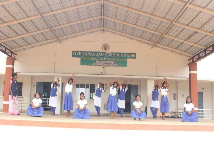 Vivekanandar Vidhya Mandir-Dance Practice
