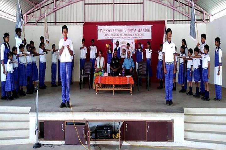 Vivekanandar Vidhya Mandir-Investiture Ceremony