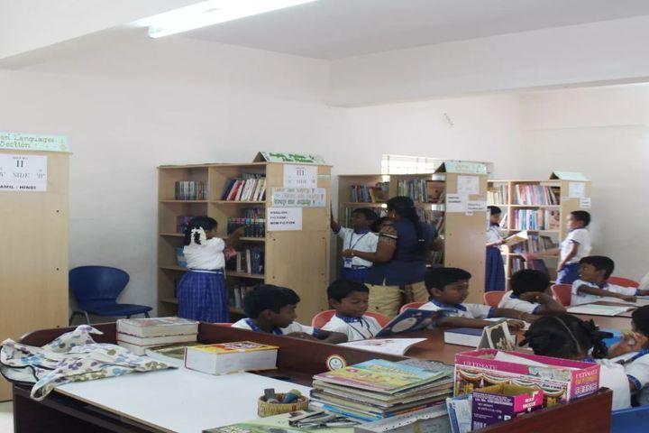 Vivekanandar Vidhya Mandir-Library