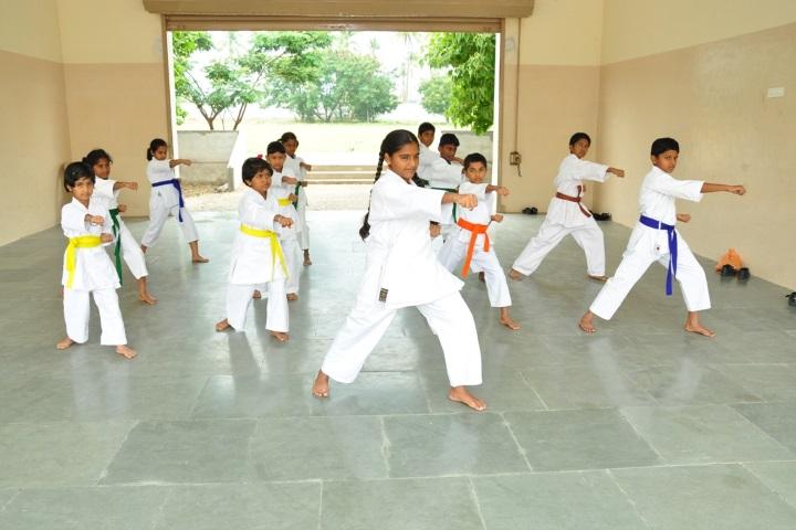 Vivekanandha Academy Senior Secondary School-Karate Class
