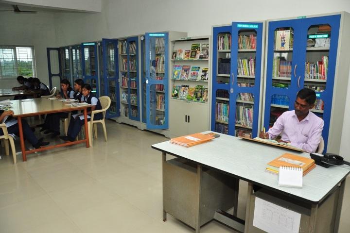 Vivekanandha Academy Senior Secondary School-Library