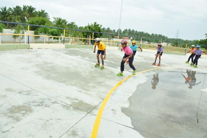Vivekanandha Academy Senior Secondary School-Skating class