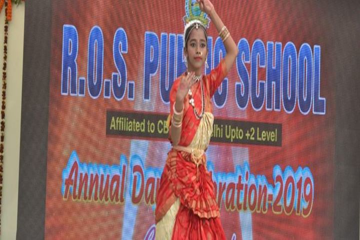 R O S Public School-Classical Dance