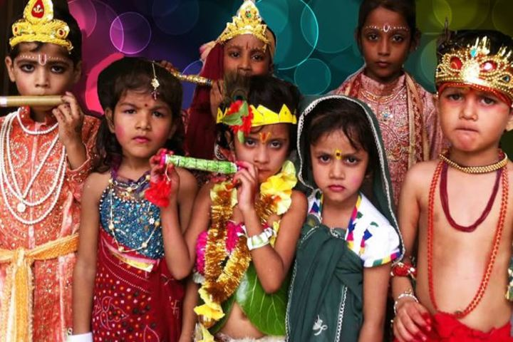 R O S Public School-Janmashtami Celebrations