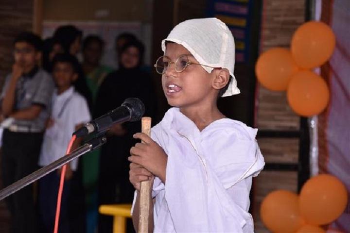 Wisdom Park International School-Gandhi Jayanthi Celebrations