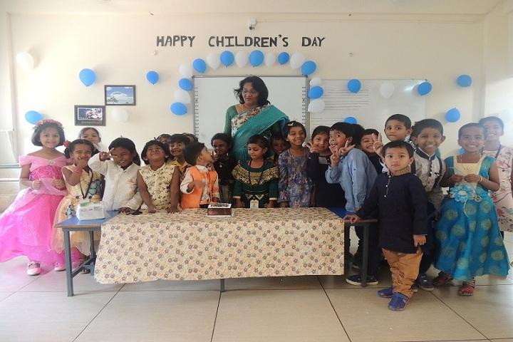 Wisdom Park International School-Childrens Day