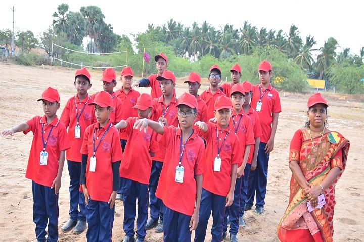Wisdom Public School-Red Day