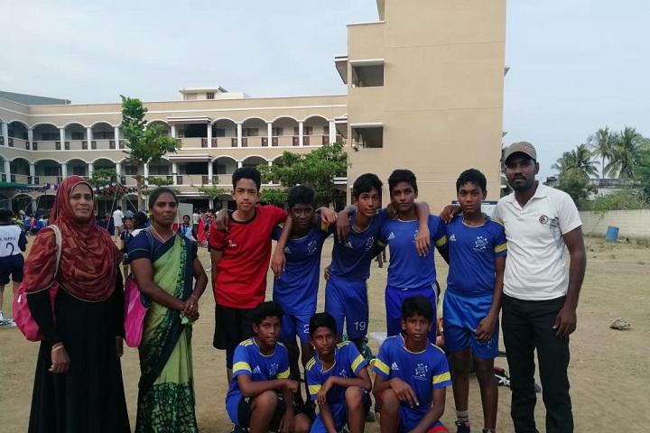 Wisdom Public School-Sports Team