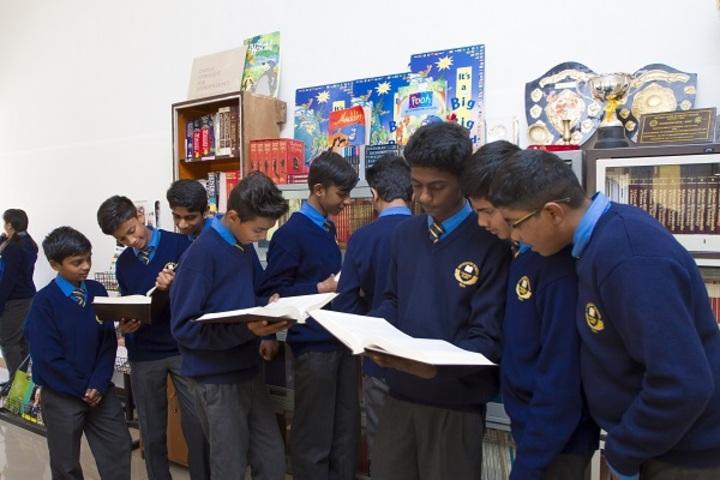Woodside School-Reading Room