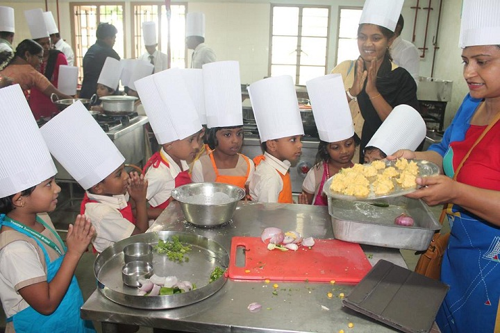 Yagappa International Residential School-Cooking Classes
