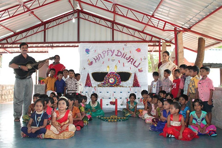 Yagappa International Residential School-Diwali Celebrations