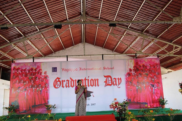 Yagappa International Residential School-Graduation Day