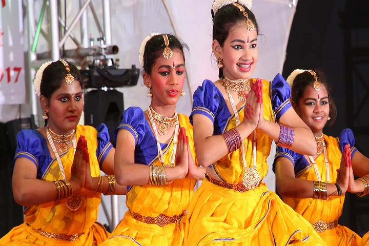 Yuvabharathi Public School-Bharatanatyam Dance