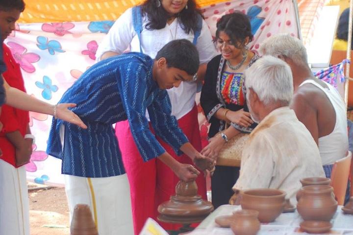 Yuvabharathi Public School-Pot Making
