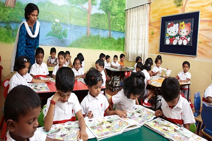 Yuvabharathi Public School-Pre Primary Classroom