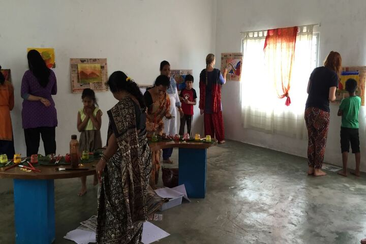 Abhaya School-Painting