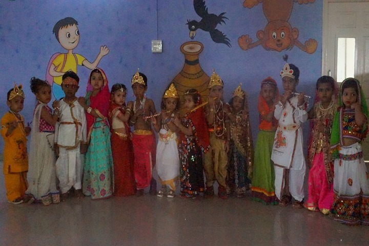 Academic Heights Public School-Janmastami Celebrations