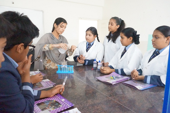 Academic Heights Public School-Biology Lab