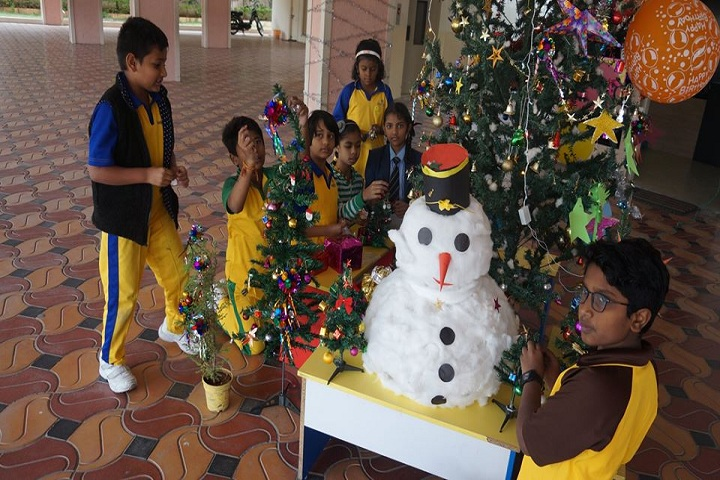 Academic Heights Public School-Christmas Celebrations