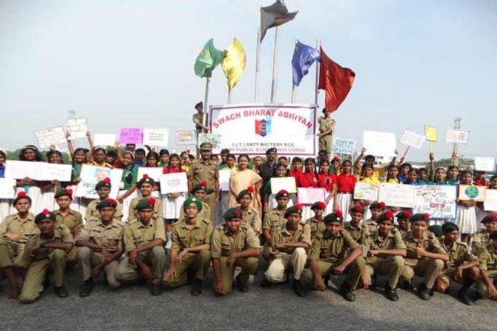 Army Public School-NCC Students