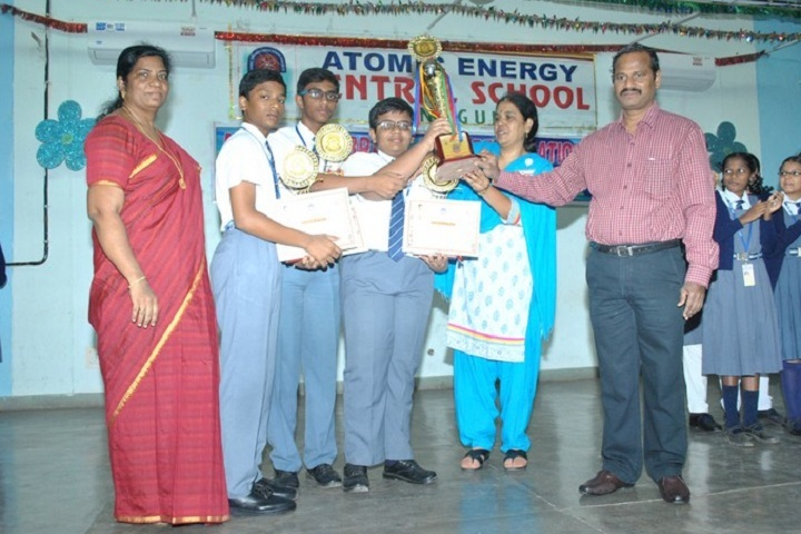 Atomic Energy Central School-Quiz