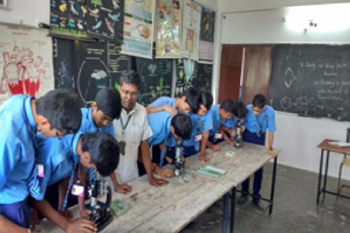 Aurobindo Public School-Biology Lab