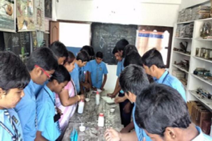 Aurobindo Public School-Chemistry Lab