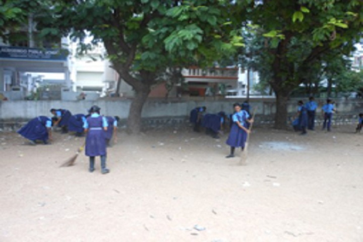 Aurobindo Public School-Swachh Bharat