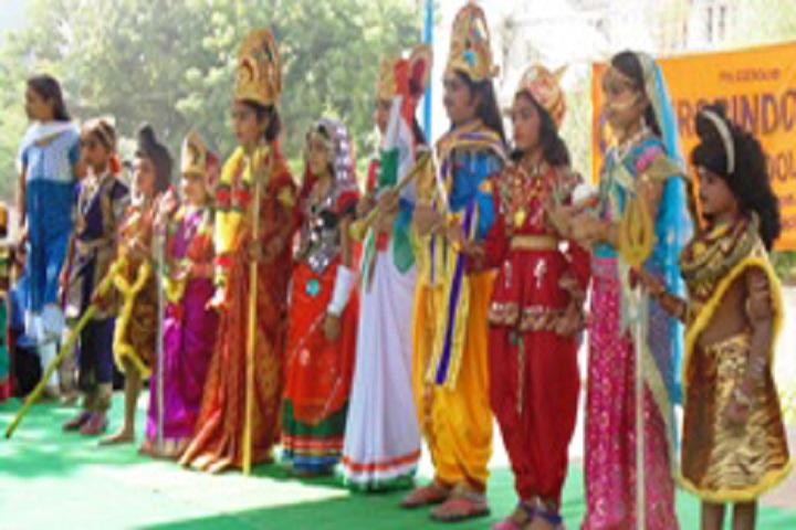 Aurobindo Public School-Festival Celebrations