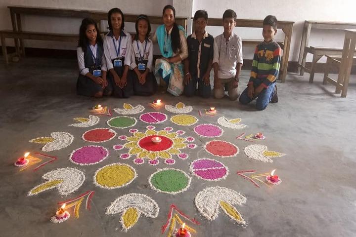 R V S Public School-Festival Celebrations