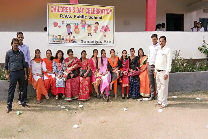 R V S Public School-Staff