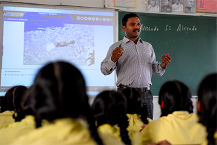 Balaji High School-Digital Classroom